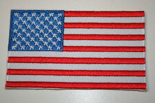 USA (America) embroidered patch,  Embroidered Heat Sealed Patch P012