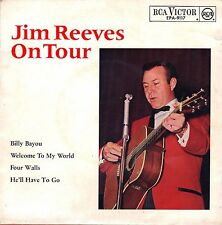"7"" Jim Reeves – EP: On Tour // Germany 1964"