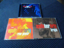 CD Apollo Four Forty - Electro Glide In Blue + 2x Singles Krupa & Raw Power RMXs