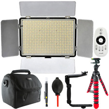 Vivitar 600 LED Video Light with Accessories