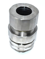 """Eaton TMCX150 1 SS L Crouse-Hinds Cable Gland, 1-1/2"""", Stainless Steel"""