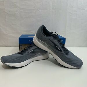 Brooks Running Mens NIB Ravenna 11 Running Shoe in Grey Sizes 9.5,10 or 13