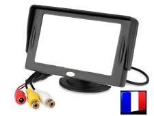 ► Moniteur TFT LCD couleur 11 cm 2 entrées vidéo surveillance caméra recul ◄
