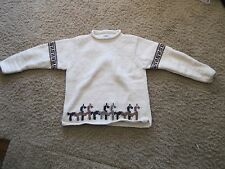 The Sweater Venture S Small Llama wool (50% wool, 50% cotton) sweater