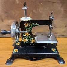 Vintage Hand Cranked Toy Sewing Machine Made in Germany