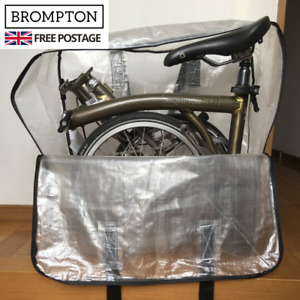NEW Brompton Bike Bag Travel Cover Foldable Bicycle Bag Cover Zipped and Handles