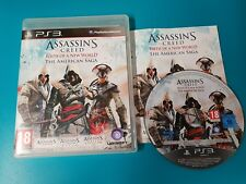PS3 : ASSASSIN'S CREED BIRTH OF A NEW WORLD - THE AMERICAN SAGA