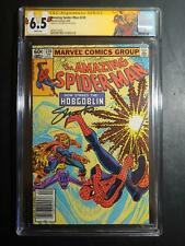 """AMAZING SPIDER MAN #239 CGC 6.5 NEW CASE """"SS WITH JIM SHOOTER/ NEWSSTAND/ LABEL!"""