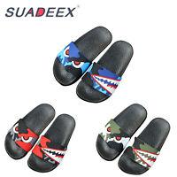 Mens Ultra Light Slide Anti-Slip Slippers Indoor Outdoor Soft House Garden Shoes