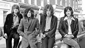 Led Zeppelin Robert Plant Jimmy Page Music Publicity Photo Print Picture