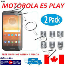 For Motorola Moto E5 Play Premium Tempered Glass Screen Protector
