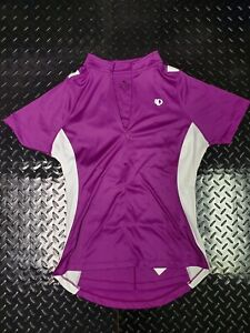 Pearl Izumi Select Womens Cycling Jersey Size Large Purple 1/2 Zip