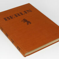 BERLIN 1920s German Photo Book w/256 pictures of Germany by Mario v. Bucovich !!