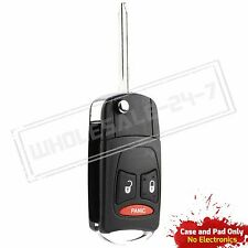 Replacement For 2006 2007 2008 2009 Dodge Ram Remote Key Fob Flip Shell