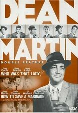 The Dean Martin Double Feature - Who Was That Lady / How To Save A Marriage NEW!