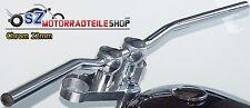 LSL Street Bar Lenker L00 22mm Chrom passend f. Kawasaki Suzuki Yamaha Honda
