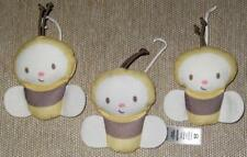 Replacement Part: 3 Plush Bee Toys For Fisher Price Little Snugabear Swing Bees