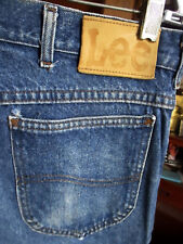 30x35 Actual  FIT True Vtg 80s LEE UNION MADE Mens Straight Denim Jeans USA