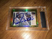 Paul Molitor 2016 Leaf Masterpiece Cut Signature signed card autographed 1/1 JSA