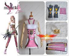 Final Fantasy 13-2 FF XIII -2  Serah Farron Dress Cosplay Costume Custom W0040