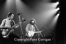 Grateful Dead Concert Photo Jerry Garcia & Bob Weir -Manhattan Center April 1971