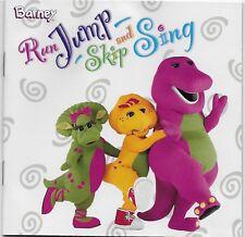 Run Jump Skip and Sing by Barney (Children) CD Apr 2003 Koch USA