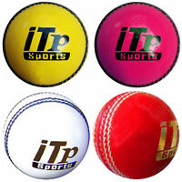 Cricket Ball Leather Hard Balls Match Quality Size 4.75 OZ & 5.5 OZ
