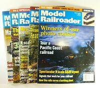 Model Railroader Magazine Lot of 5 From 2001 Kalmbach Publishing Model Trains