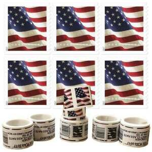 2017 US 1 Roll of 100 American Flag 55¢ FOREVER - Unopened! FREE FAST SHIPPING!