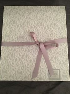 Hallmark Classic Wedding Collection Album Bells & Lace FREE SHIPPING