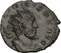 Tetricus I - Gallic Roman Emperor: 271-274AD Ancient Roman Coin Spes Hope i53039
