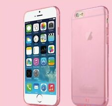New and Original Transparent Pink Back Case Cover For Apple iPhone 6/6S-4,7inch