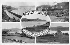 Kippford Scotland scenic views and landmarks real photo pc Z26717