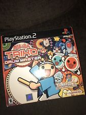 Playstation 2 Taiko Drum Master Boxed And Complete With Drum & Sticks NTSC/U/C