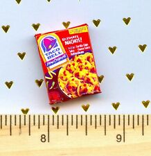 Dollhouse Miniatures Size Nacho Mix Box