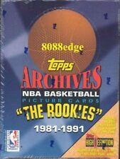 1992-93 TOPPS ARCHIVES NBA SEALED BOX: MICHAEL JORDAN TOPPS RETRO ROOKIE CARD RC
