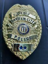 GOTHAM CITY POLICE CHIEF BADGE replica