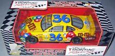 1999 Racing Champions 1:24 ERNIE IRVAN #36 M & M's Pontiac Racing Club PROMO