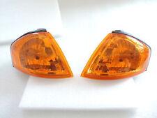 NEW Amber Turn Signal Corner Light Lamp Pair For~1999~2000~Mazda~Protege~Sedan