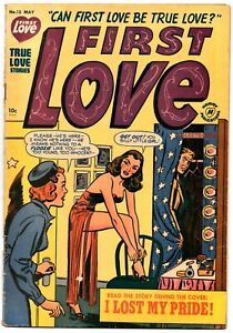 FIRST LOVE ILLUSTRATED 12 (5/1951)  5.0 VG/FN