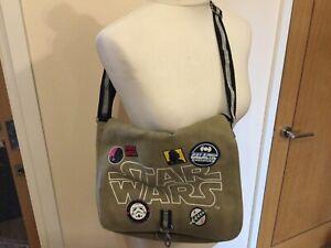 Star Wars Canvas Shoulder Crossbody Bag Adjustable Strap BNWOTS T1260
