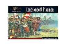 Landsknechts pikemen Warlord Games Pike & Shotte 28 Mm Sd