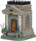 Department 56 The Addams Family Village Accessories Crypt Lit Figurine, 4.95 Inc
