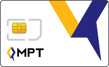 NEW! Active Myanmar MPT Burma SIM card / roaming Burmese rare Internet
