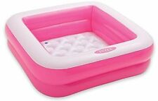 Intex Square Baby Pool - Pink, New, Free Shipping