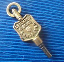 , Lancaster , Lancashire - no. 2 Advertising Pocket Watch Key - Leighton & Sons