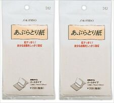 SHISEIDO OIL CONTROL BLOTTING PAPER FOR REMOVING OILY SHINE FACE 240 SHEETS JPN