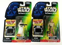 Hasbro Star Wars Kenner Luke Skywalker Princess Leia Freeze Frame Figures Sealed