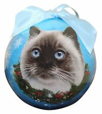 "Himalayan Cat-Shatterproof Ball Ornament-3""- by E & S Pets"