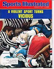 Sports Illustrated - November 17, 1975 Hockey Violence